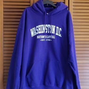 Purpke Washington DC hoodie